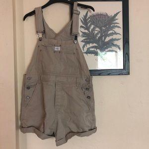 Calvin Klein Shorts - Vintage Calvin Klein Khaki Tan Overalls